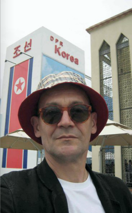 Joachim Schimd in Korea nel libro Around the World in Eighty Minutes