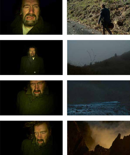 Film stills from 'Evaders' by Ori Gersht, 2009. Copyright Ori Gersht