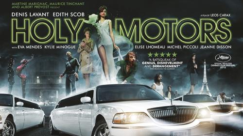 La locandina di Holy Motors