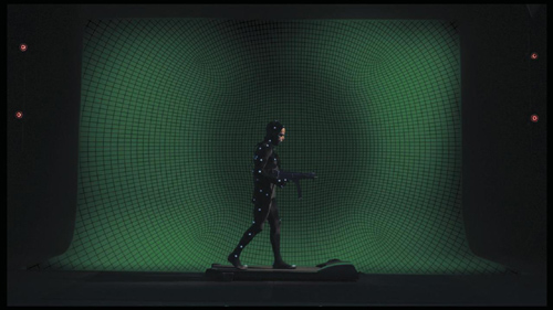 Oscar nel film Holy Motors è un performer di realtà virtuali