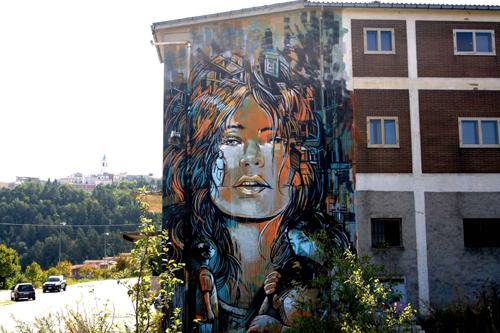 Alice Pasquini – courtesy Memorie Urbane