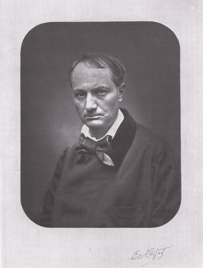 Etienne Carjat - Charles Baudelaire (1863)