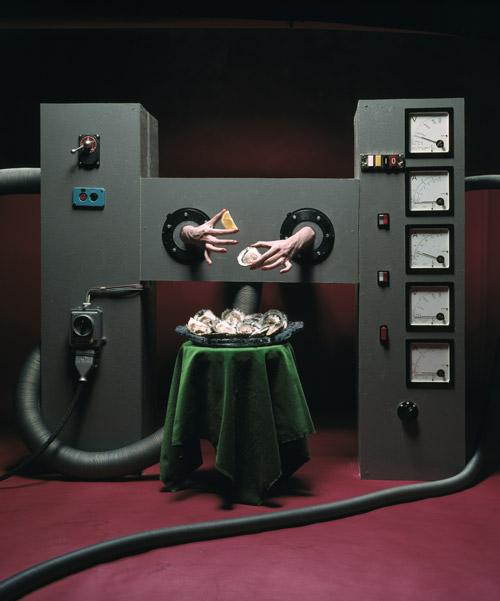 Alfa Castaldi, La Machine à manger les huitres, 1972