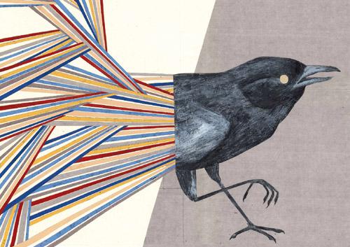Martina Merlini, disegno per link magazine