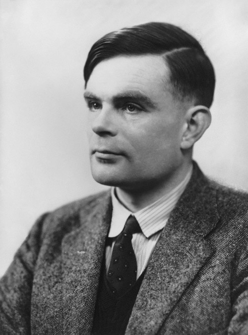 Alan Turing © National Portrait Gallery, London 1951, Elliot & Fry