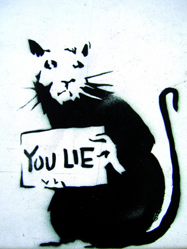 Bansky, Rat/You lie