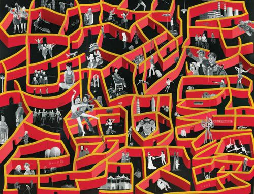Mao Xinglan, 2007  Acrilico su tela - Collezione Faurschou Foundation, Copenhagen and Beijing  © Yue Minjun