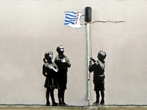 Bansky, Very little helps