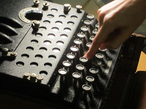 Macchina Enigma© Museo Nazionale della Scienza e della Tecnologia