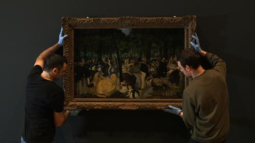 Frame da Exhibition. Manet - ritratti di vita, di Phil Grabsky