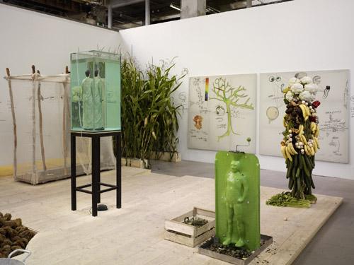 Veduta della mostra Photo: André Morin
