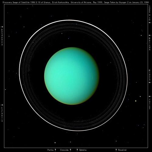 Urano© Voyager 2, Nasa