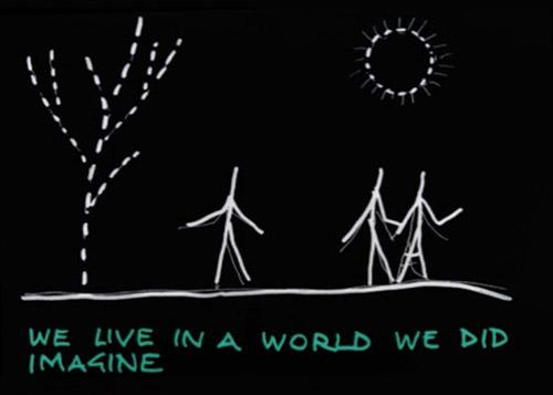 Yona Friedman, La terra spiegata ai visitatori extraterrestri Videoanimazione 2010