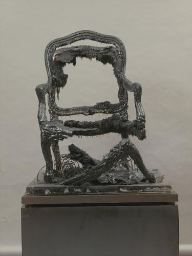 Arman, Le Fauteuil d'Ulysse, 1965