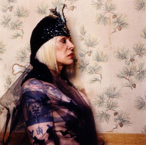 Genesis P-Orridge nella locandina del film The Ballad of Genesis and Jane, 2011