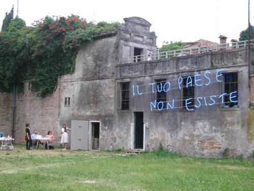 Libia Castro &  ólafur ólafsson, Il tuo paese non esiste (Venice), 2011