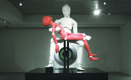 Pieta_Self-death, 2008, FRP, 400x340x320cm copia