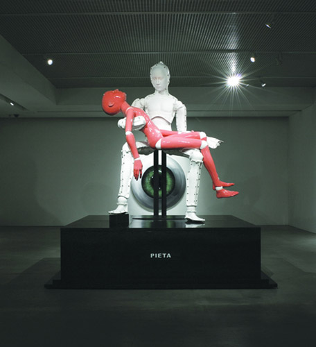 Lee Yongbeak, Pieta: self death, 2008