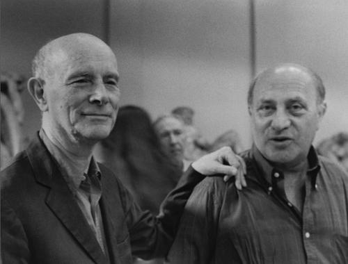 Guido Ballo e Arnaldo Pomodoro, Milano, 1993