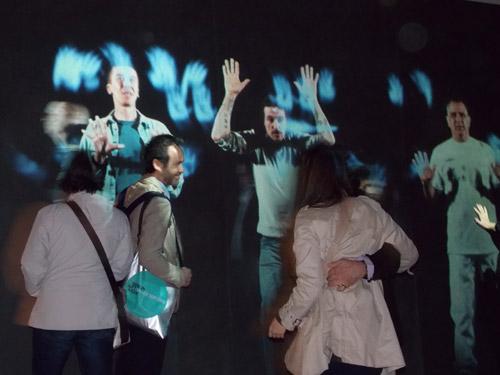 Studio Azzurro In principio (e poi), 2013 Particolari dell'installazione, padiglione santa sede Foto: Italo Rondinella Courtesy © La Biennale di Venezia