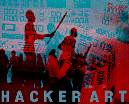 Tommaso Tozzi, Hacker Art, 1990
