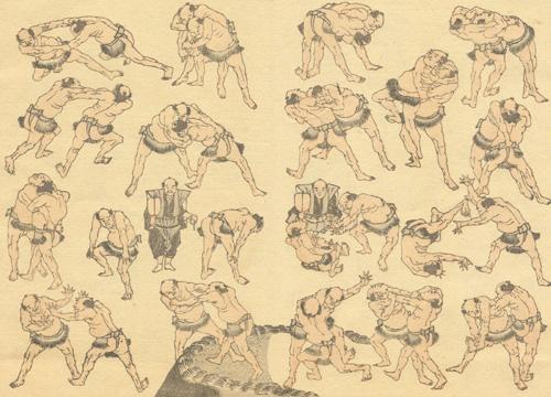 Katsushika hokusai Da: HOKUSAI Manga, 1814