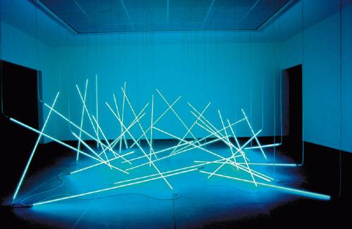 François Morellet, L'Avalanche Centre Pompidou