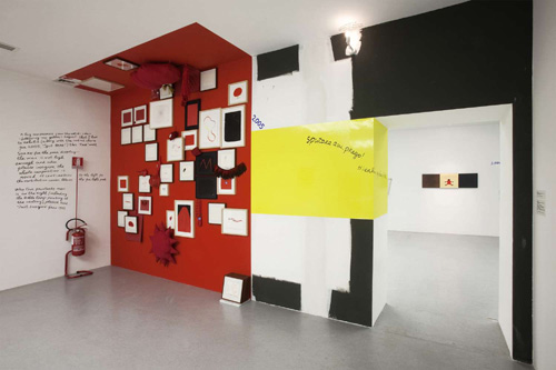 Installation view, Nedko Solakov, All in (my) order with exceptions