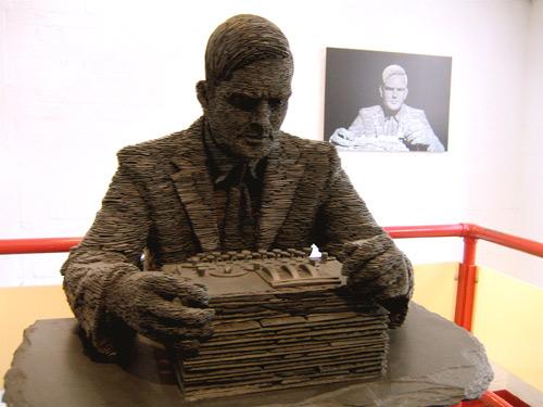 Alan Turing, scultura