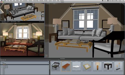 Interfaccia di modo, programma di modellazione solida 3D