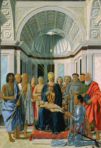 Piero della Francesca, Altare di Montefeltro, olio su tavola, 1465