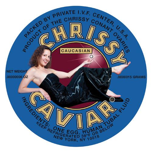 Chrissy Conant, Chrissy's Caviar, bioarte
