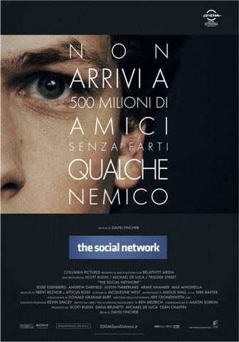 Locandina The Social Network  © 2010 Columbia TriStar Marketing Group, Inc. All Rights Reserved.