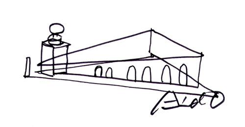 Sketch, Tadao Ando
