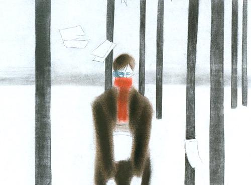 Simone Massi, Tengo la posizione, 2001