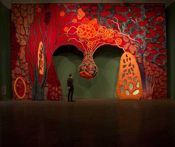 Piotr-Uklanski-Untitled-Open-Wide-2012-Gagosian-Gallery