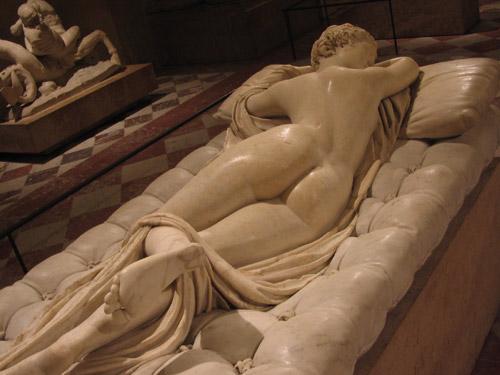 Ermafrodita addormentato, Museo Nazionale Roma