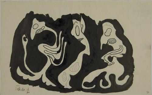 Gillo Dorfles, Senza titolo, 1930