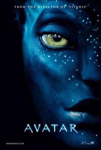 Poster del film AVATAR, 2009