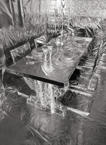 Odinea Pamici, A lunga conservazione. Sala da pranzo.