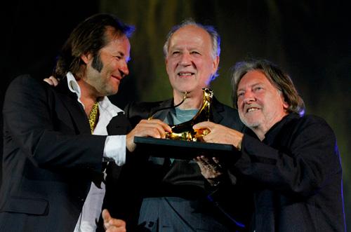 Werner Herzog - Pardo d'onore Swisscom  © Festival del film Locarno / Sailas Vanetti