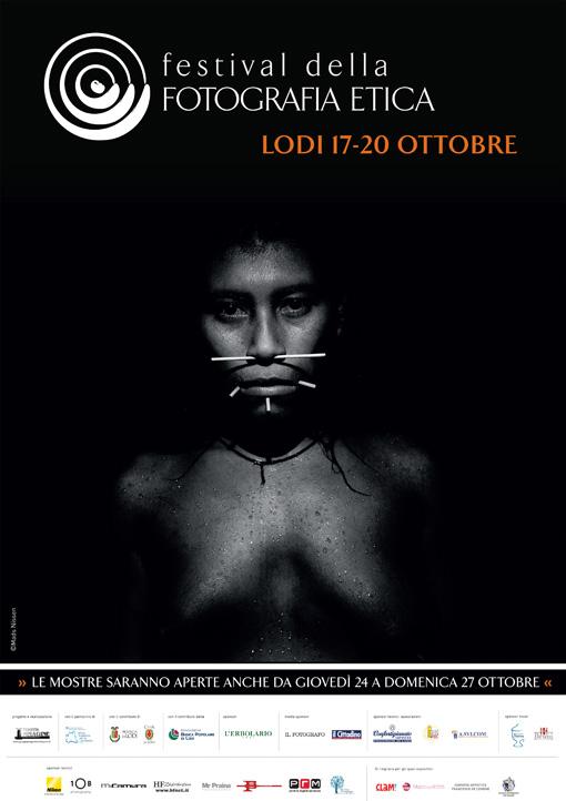 Festival della Fotografia Etica 2013, locandina