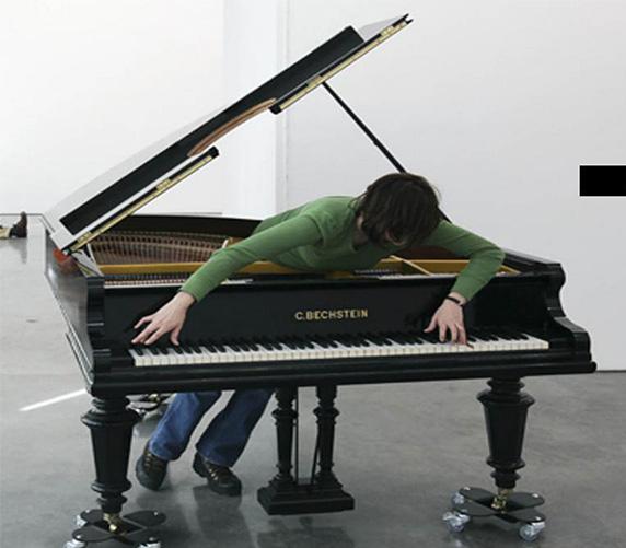 "Allora & Calzadilla. Stop, Repair, Prepare: Variations on ""Ode to Joy"" for a Prepared Piano (2008)"
