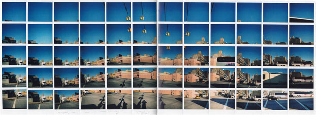Maurizio Galimberti, Truck… Cars… Shadow Self & Bus…, 2006. Collage di Polaroid, cm 46x116