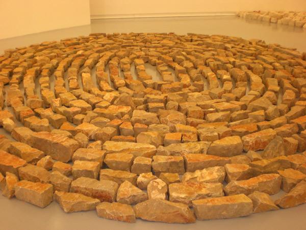 Richard Long, Maritime Spiral, 2008