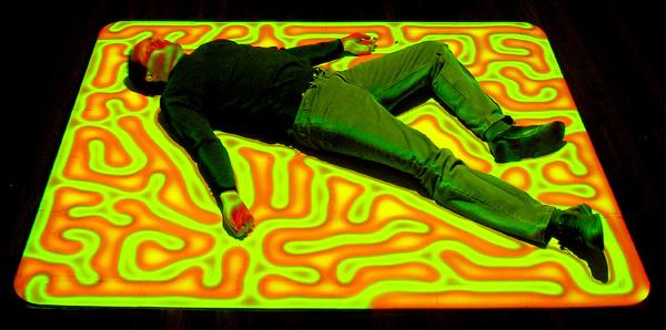 Brian Knep, Healing Series, Installazione interattiva, 2003-2004