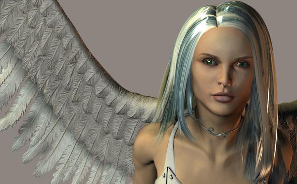 Pier Luigi Capucci, Avatar, 3D computer graphics, 2007.