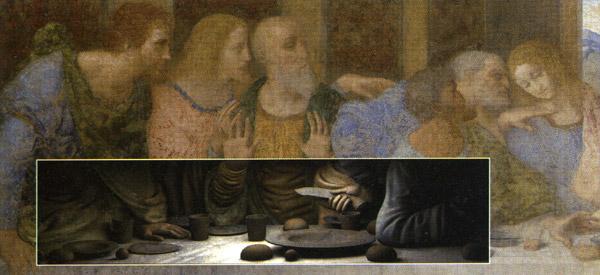 Peter Greenaway, L'Ultima Cena di Leonardo, Milano, Palazzo Reale