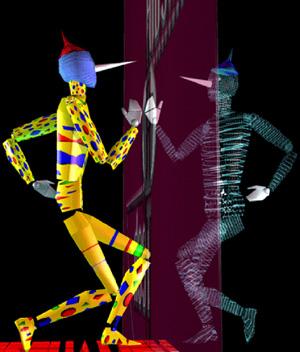 """Incontro del Pinocchio """"marionetta"""" e del Pinocchio """"virtuale"""", Mediartech"""