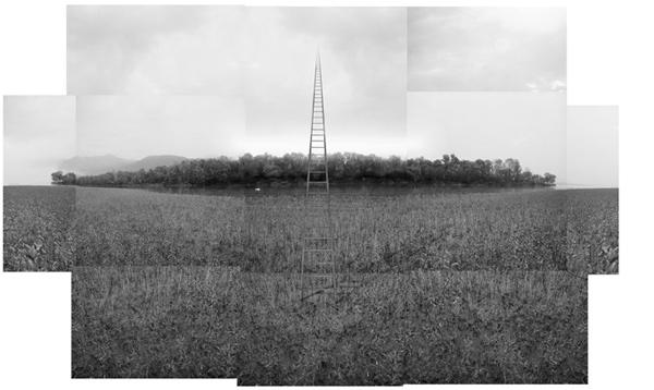 Occhiomagico, La scala verso il cielo (dalla serie L'ora sospesa), 2006 Courtesy the artist